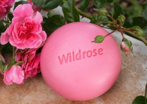 Badeseife Wildrose